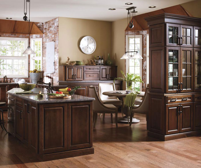 Cherry Kemper Kitchen Cabinets 3 Design Kitchen World