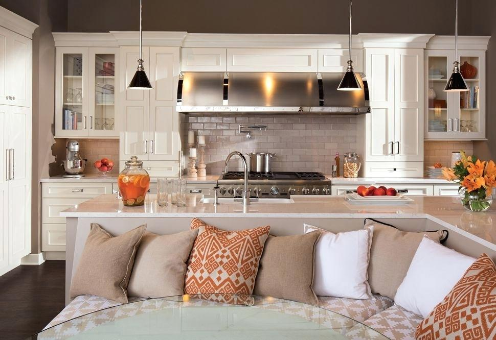 Kitchen Island With Table Attached Ideas — 3-Design Kitchen ...