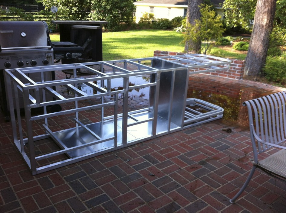 Modular Outdoor Kitchen Frame Kits — 3-Design Kitchen World