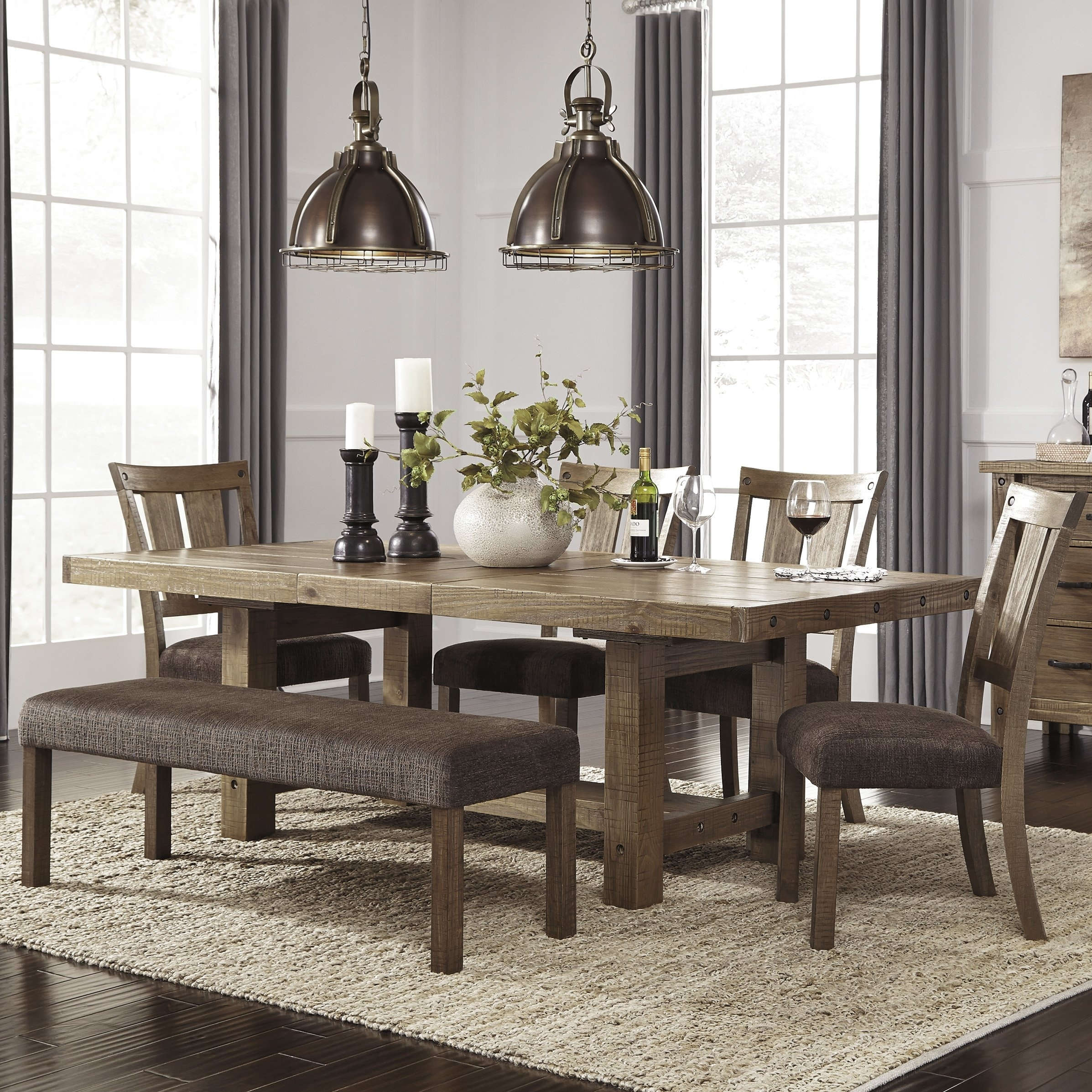 rustic dining chairs - 700×700