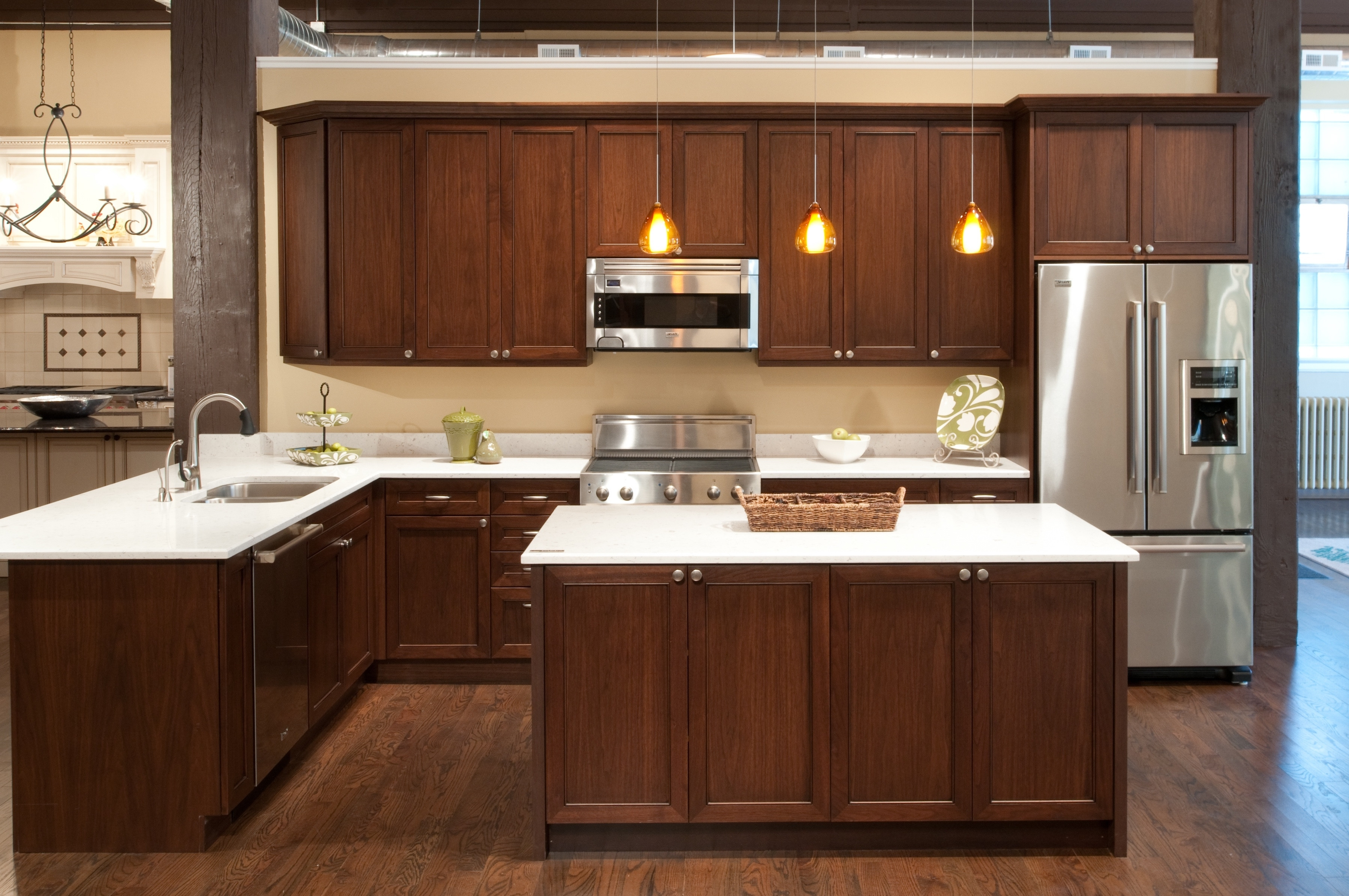 Kemper Maple Kitchen Cabinets 3 Design Kitchen World