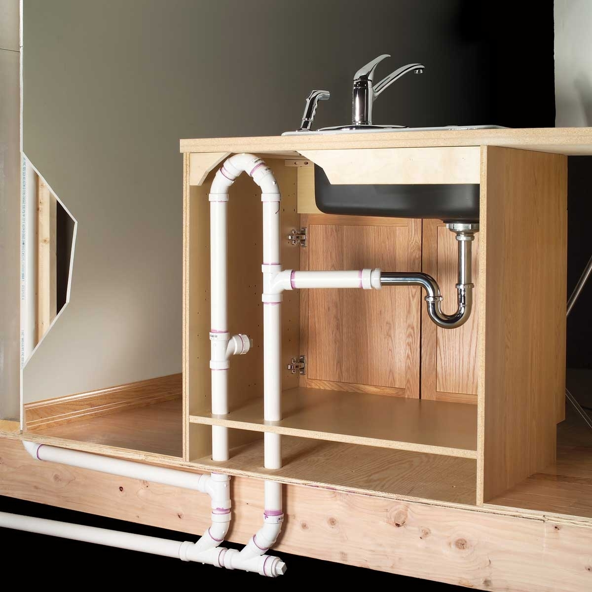 About Kitchen Sink Plumbing Rough In Dimensions 3 Design